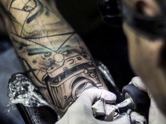 machine tatouage